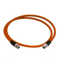 CATV-Messkabel BNC-Stecker/BNC-Stecker 2,0m orange