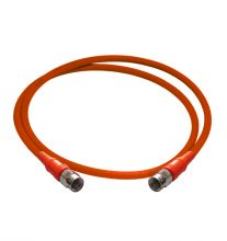 CATV-Messkabel F-Stecker/F-Stecker 2,0m orange