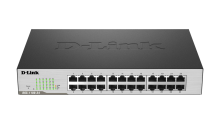 D-Link DGS-1100-24 EasySmart Gigabit 24-Port Switch 1000Mbit/s