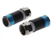 F-56-CX3 HP 5.1 F-Kompressionsstecker blau High-Tech Polymer